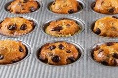 Mini chocolate chip muffins-4