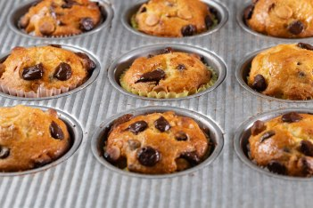 Mini chocolate chip muffins-4
