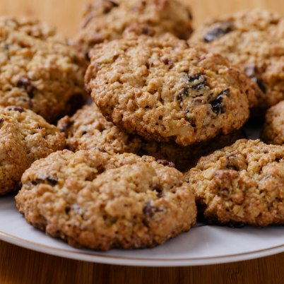 raisin oatmeal cookies-2