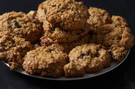 raisin oatmeal cookies-3