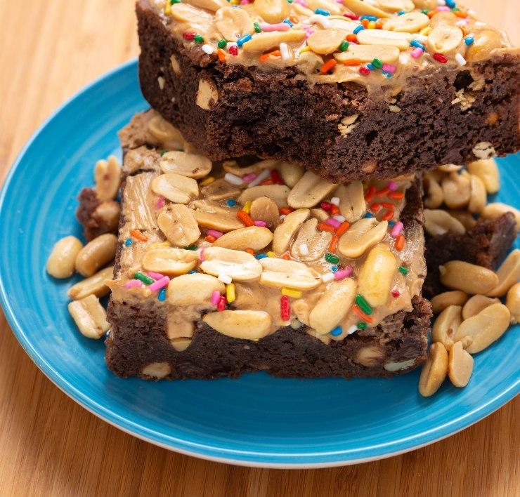 Peanut brownie-2