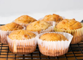 Cranberry orange muffins-2
