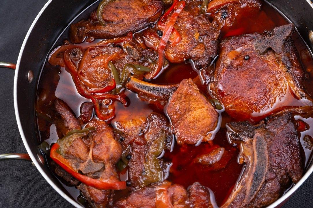 Brown stew pork chops (2 of 3)