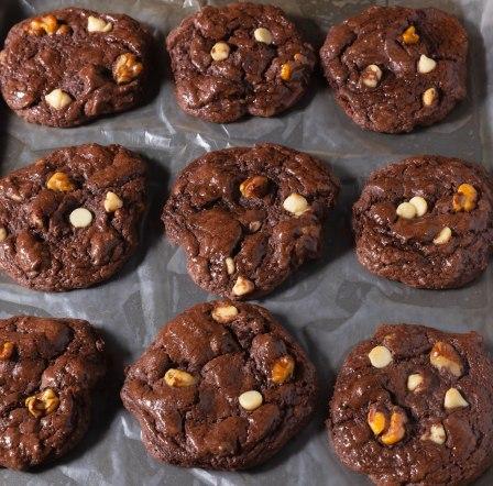 Devil's food fudge cookies (1 of 1)