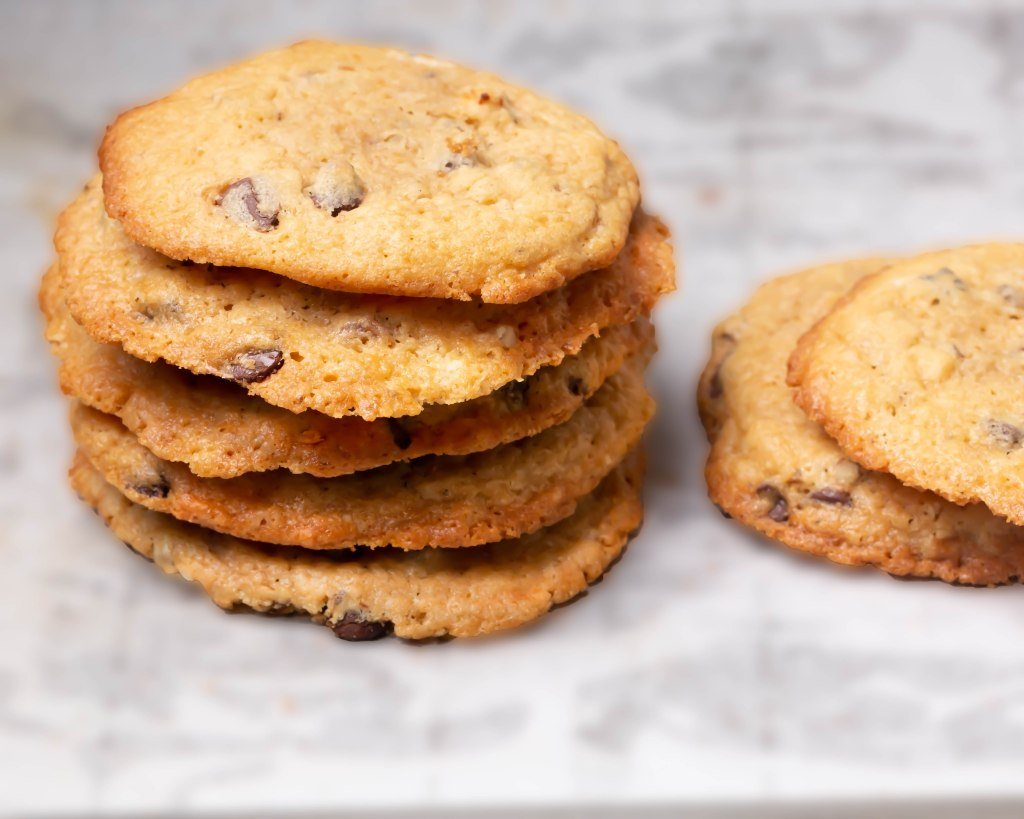Chocolate chips plus macadamia nuts cookies