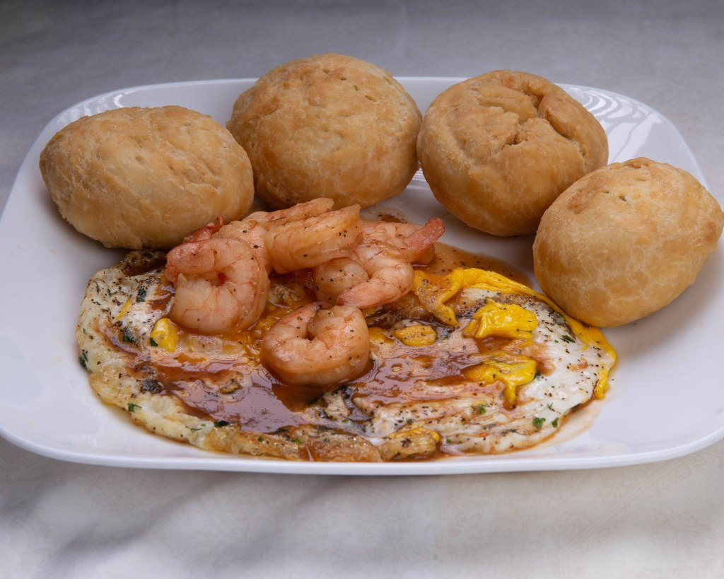 Jamaican fried dumplings. Typical #Jamaican breakfast. #Originalfrieddumplings. Along with #Friedeggs and #Schrimp
