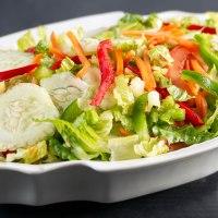 Spring fresh garden salad
