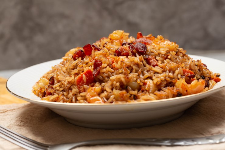 Mouthwatering Jamaican fried rice