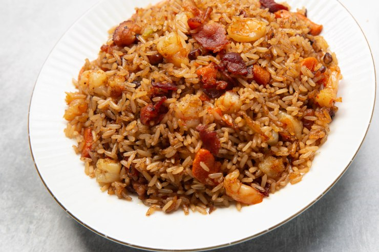 Jamaican fried rice