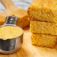 Nana's delicious vegan cornbread