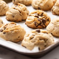 Betty Crocker inspired chocolate chips cookies