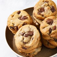 Chunky chocolate chip cookies