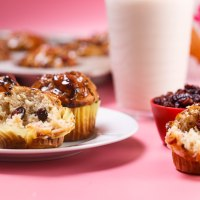 Cranberry-Lemon Muffins