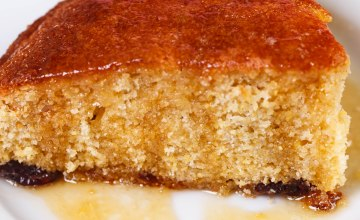Delicious honey cornbread