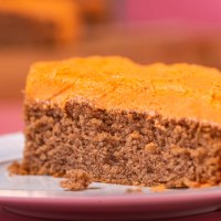 Delicious pumpkin spice bar