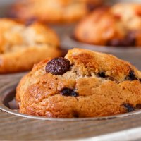 Flavorsome triple berry muffins